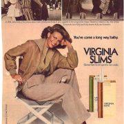 1977 Virginia Slims Ad Youve Come a Long Way