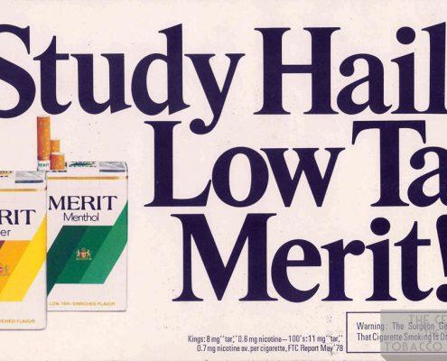 1978 Merit Display Card 1