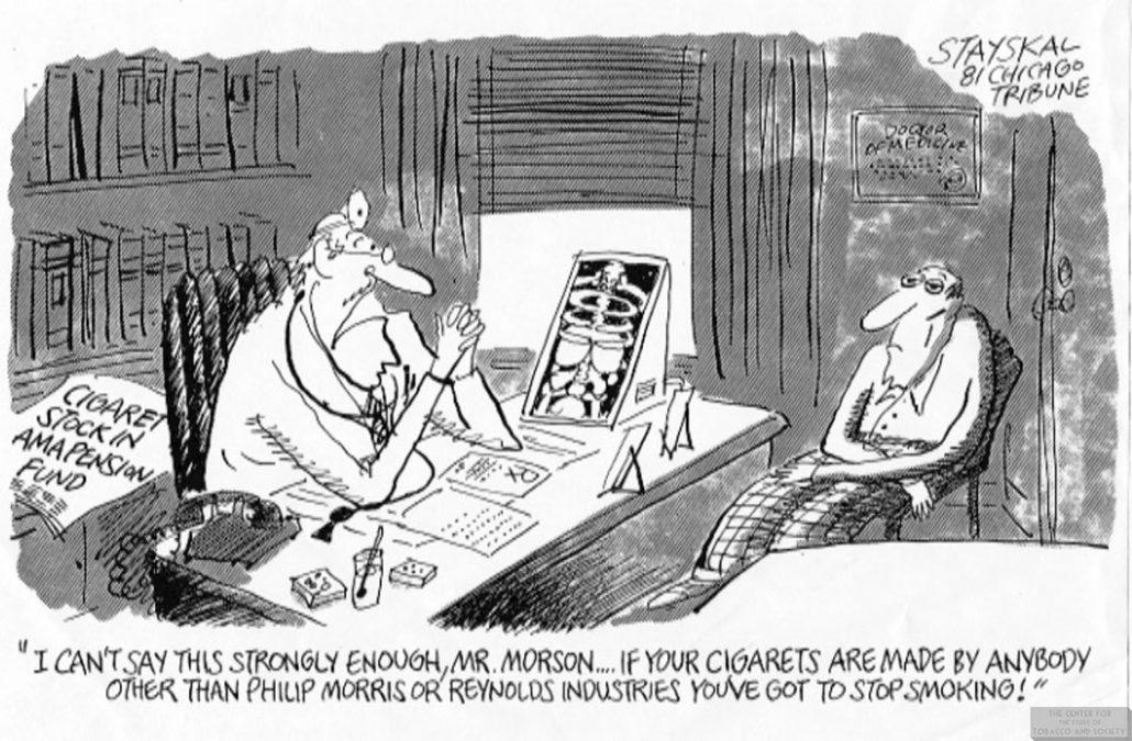 1981 Stayskal Cartoon Cig Stock in AMA Pension Fund