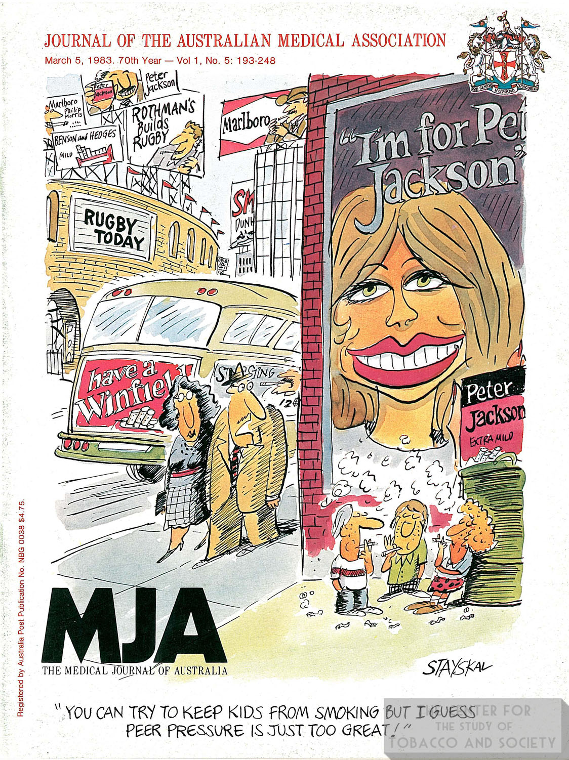 1983 03 05 MJA Front Cover 1