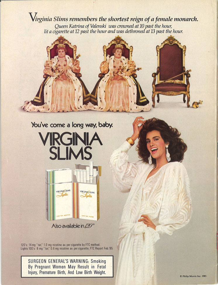 1986 01 20 Time Virginia Slims Ad 1