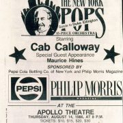 1986 NY Daily News NY Pops Salute to Duke Ellington Ad