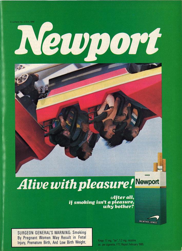 1988 03 Ebony Newport Ad Roller Coaster 1