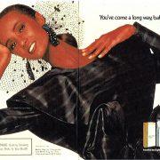 1988 Iman for Virginia Slims
