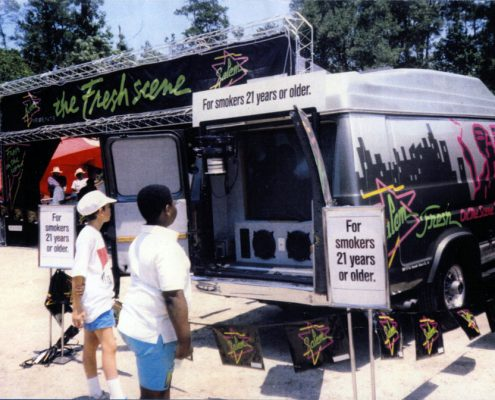1991 Boys at Salem Video Van 1