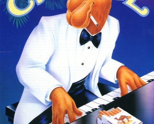1991 Camel Ad Joe Camel Playing Piano 1