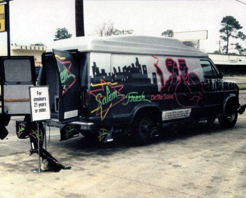 1991 Salem Video Van in Houston 1