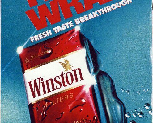 1991 Winston Ad The Wrap