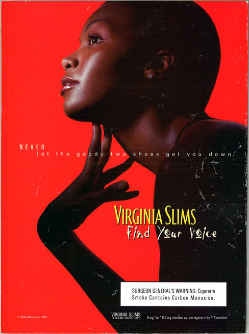 2000 03 27 Jet Virginia Slims Ad Find Your Voice