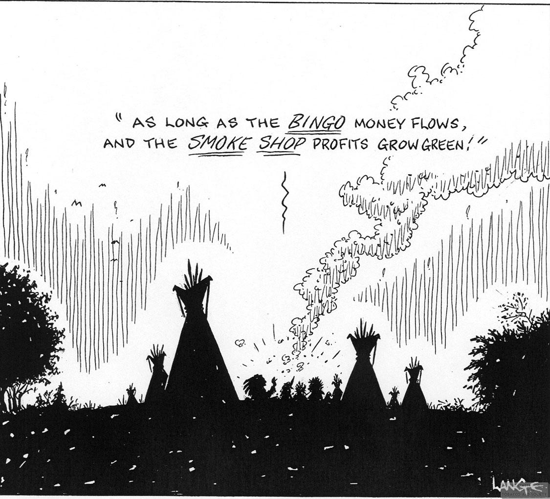 Lange Cartoon Smoke Shop Profits Grow 1