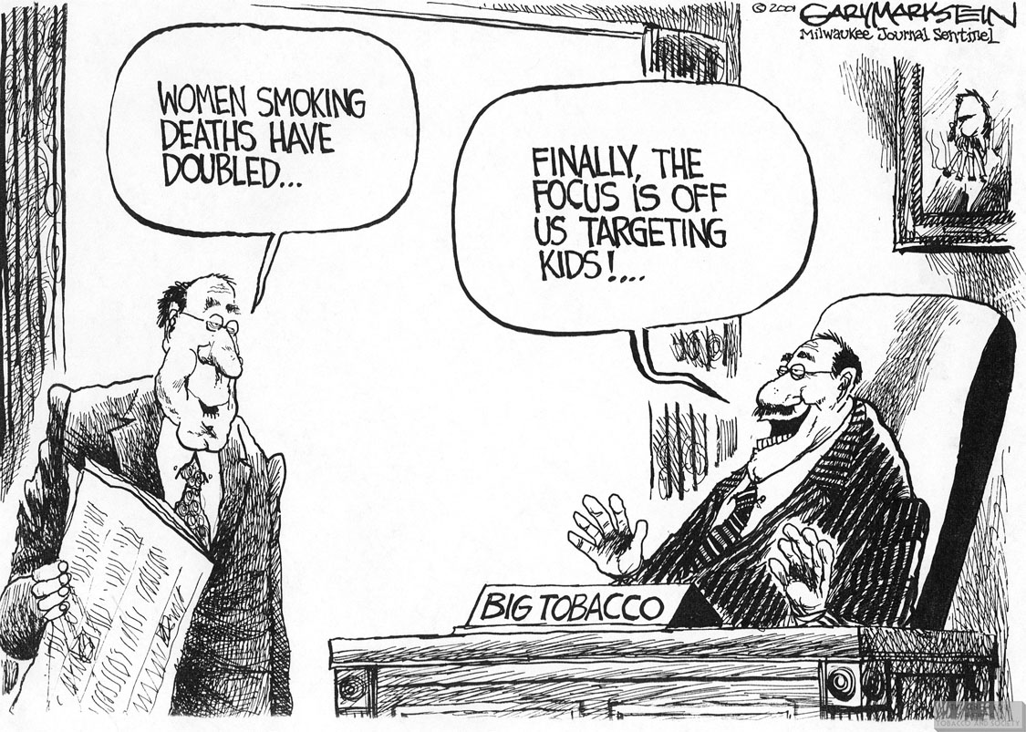 Markstein Cartoon Women Smoking Deaths 1 1