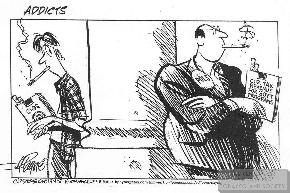 Payne Cartoon Addicts 1