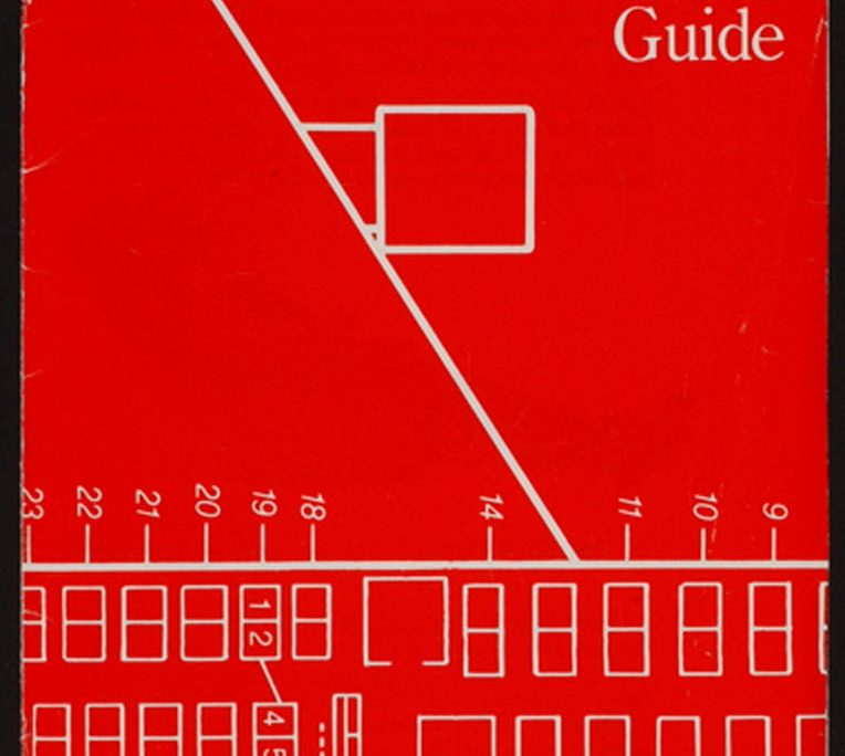 TWA Aircraft Seating Guide Front Cover 1