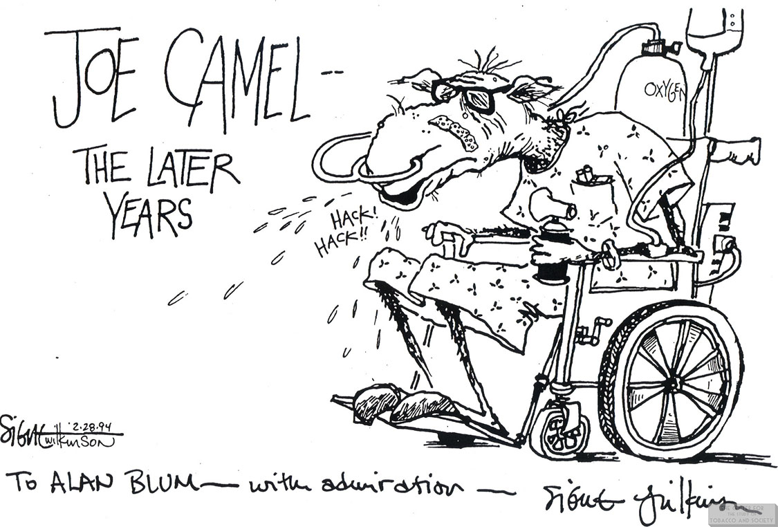 Wilkinson Cartoon Joe Camel the Later Years 1