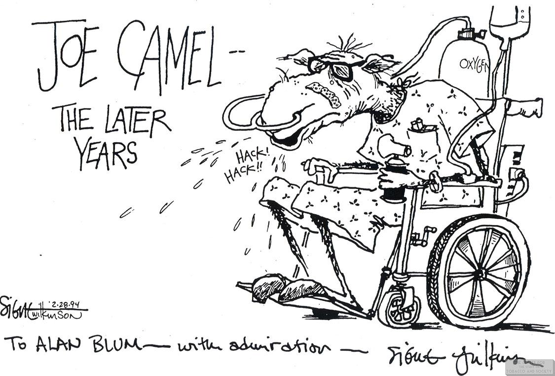 Wilkinson Cartoon Joe Camel the Later Years 1