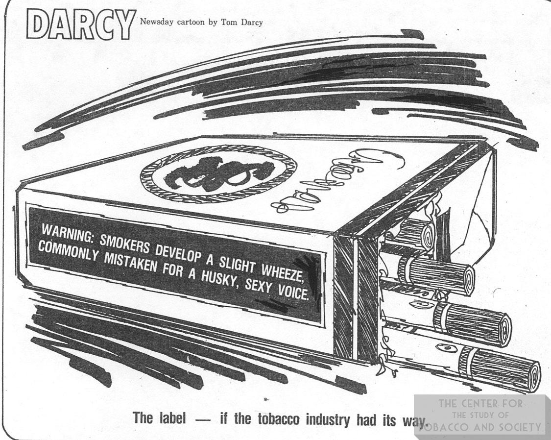 n.d. Newsday Darcy Warning Label