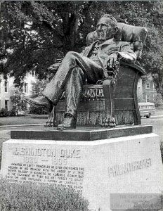 n.d. Statue of Washington Duke 1