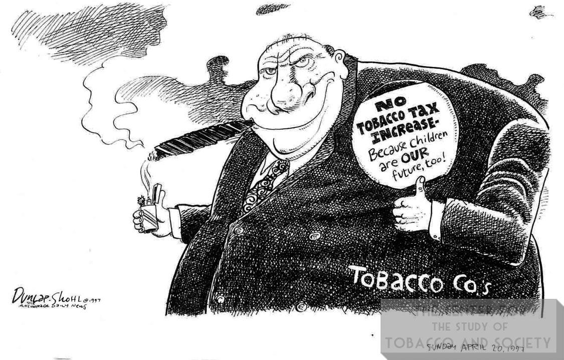 1997 04 20 Dunlap Shohl No Tobacco Tax Icnrease