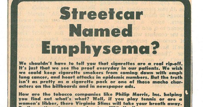 1977 09 23 Miami Hurricane Streetcar Named Emphysema
