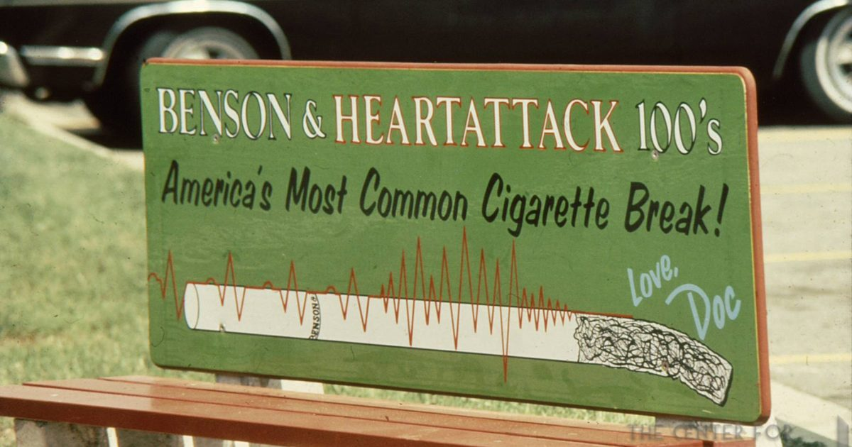 1978 DOC Bus Bench Benson Heartattack