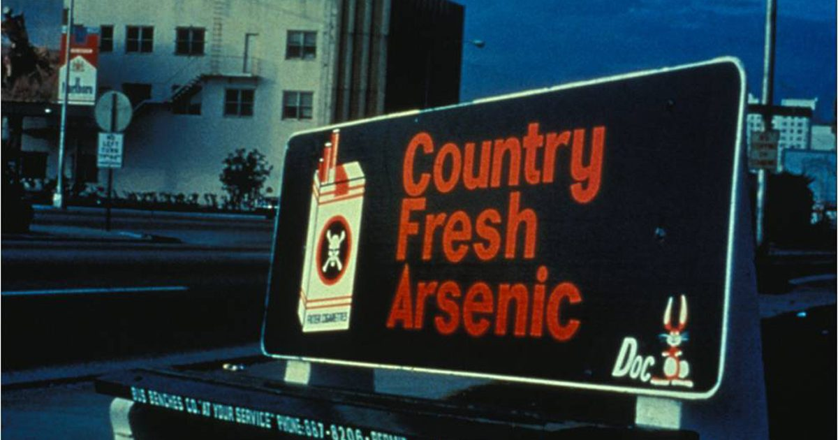 1978 DOC Bus Bench Country Fresh Arsenic