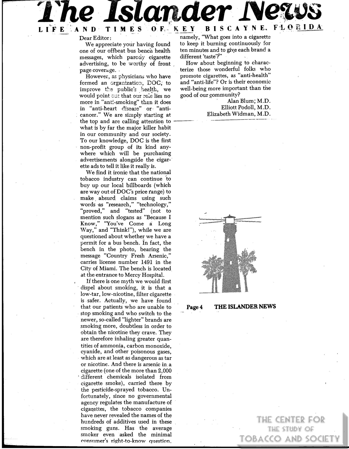 1978 Islander News Info on DOC