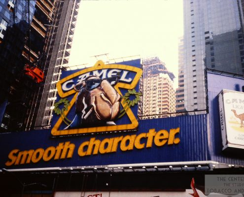 1995 Camel Sign in Times Square Smooth Character