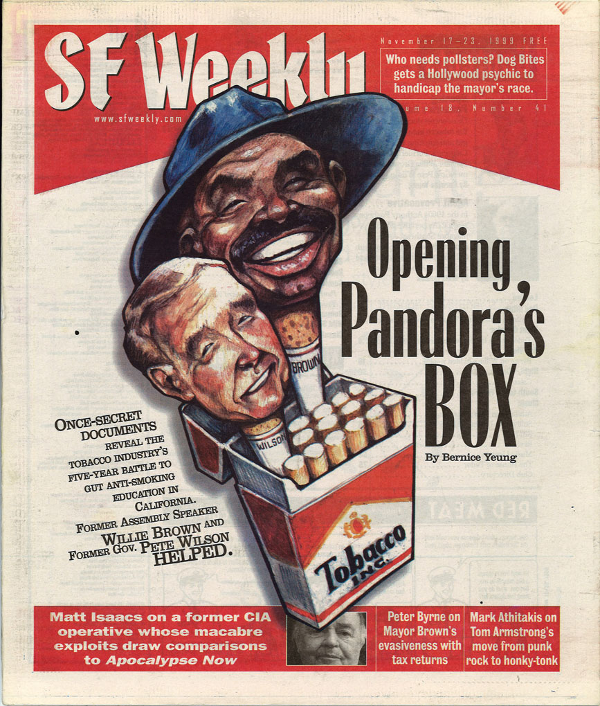 1999 11 17 SF Weekly Opening Pandoras Box