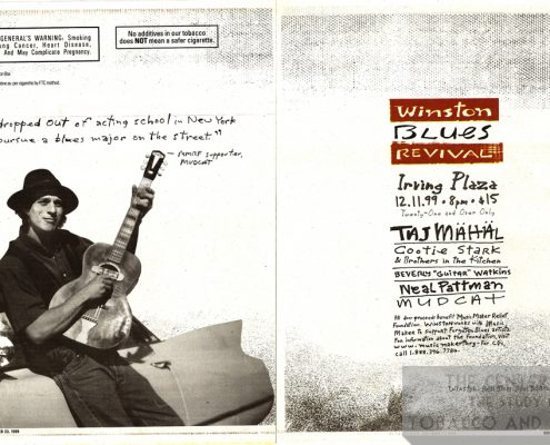 1999 11 23 Village Voice Winston Blues Revival