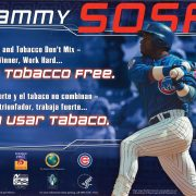 2002 Sammy Sosa Poster Sports Tobacco Dont Mix resized
