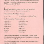 2003 Only Skin Deep Exhibit Brochure Sponsor Altria Pg 5