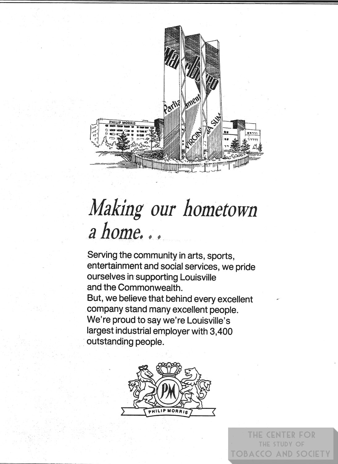 n.d. PM Corporate Ad Making Our Hometown a Home