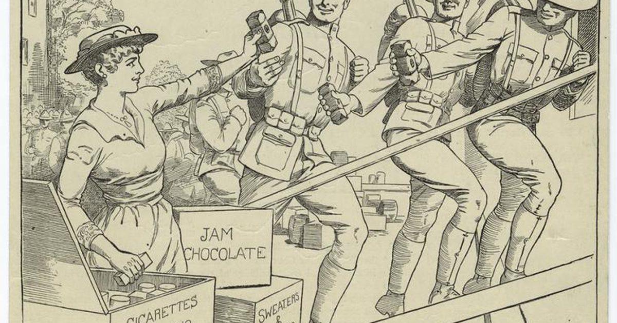 1917 Otho Cushing Womens Bit NYPL