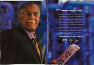 2001 04 23 New Yorker PM Ad Georges Future Is Sealed