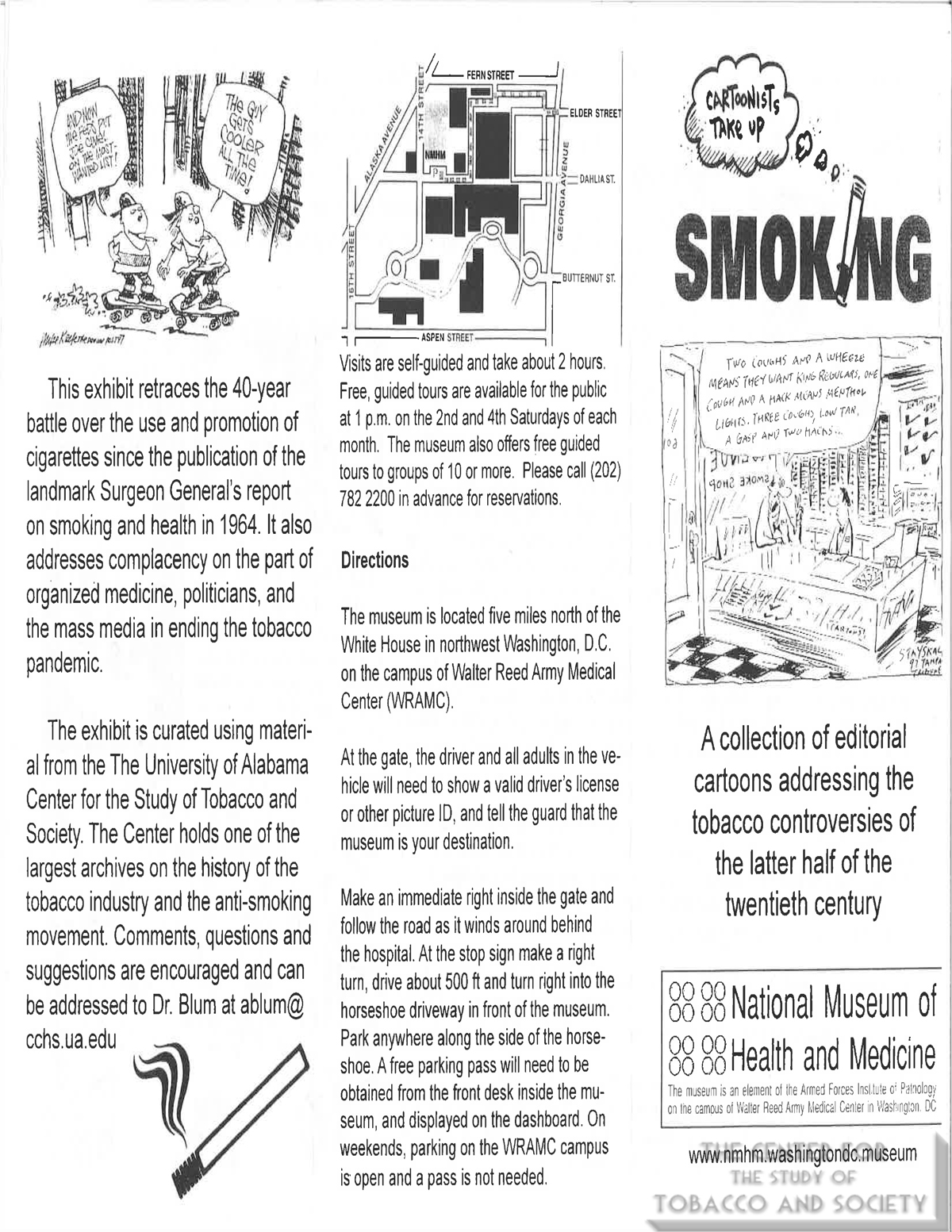 2006 09 Cartoonists Take Up Smoking National Musuem of Health and Medicine Exhbition Museum Guide