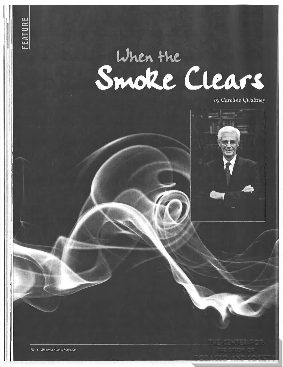 2007 Alabama Alumni Magazine When the Smoke Clears