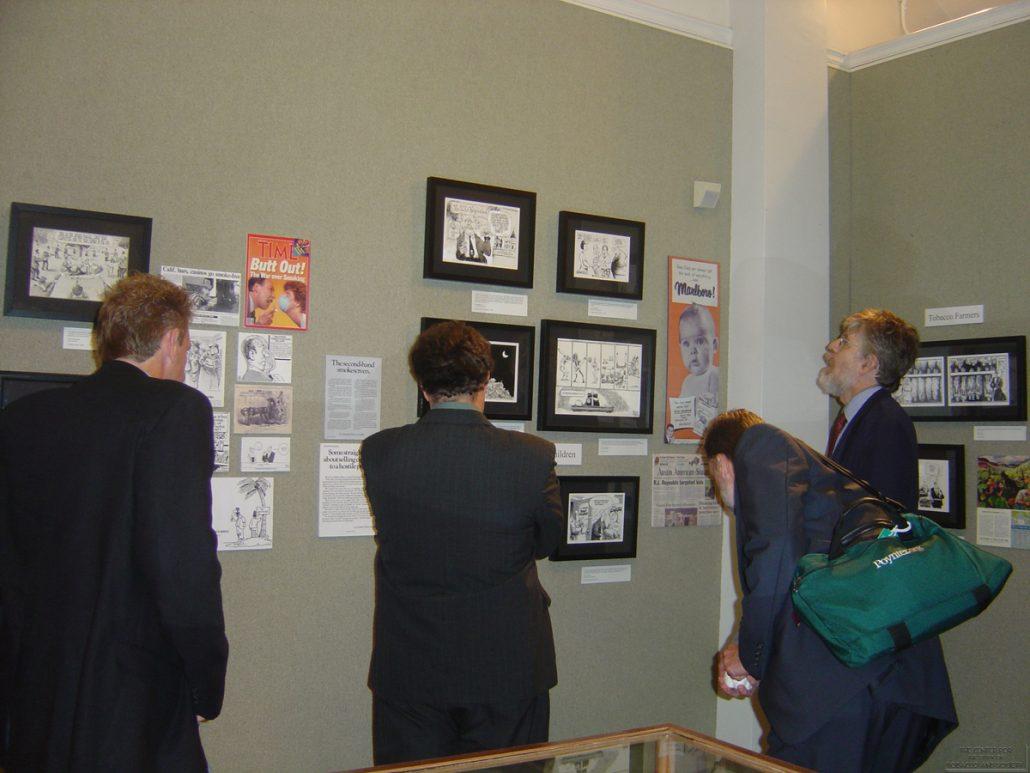 AL Museum of Nat. History Cartoonists Exhibit Photo 20