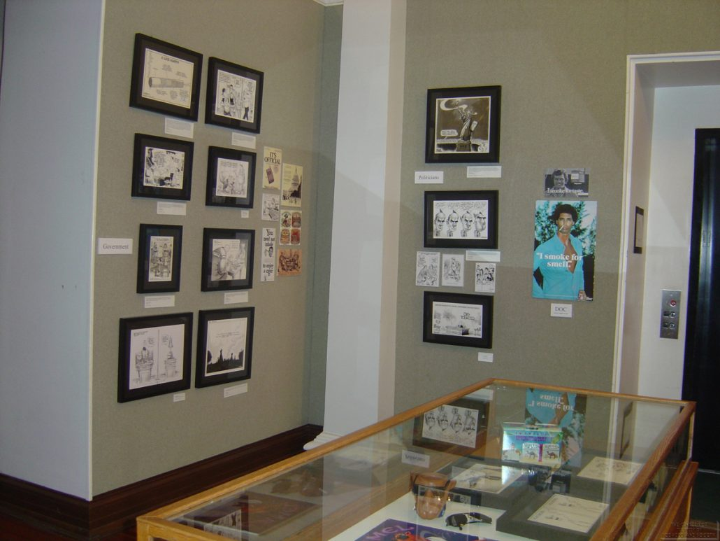AL Museum of Nat. History Cartoonists Exhibit Photo 22