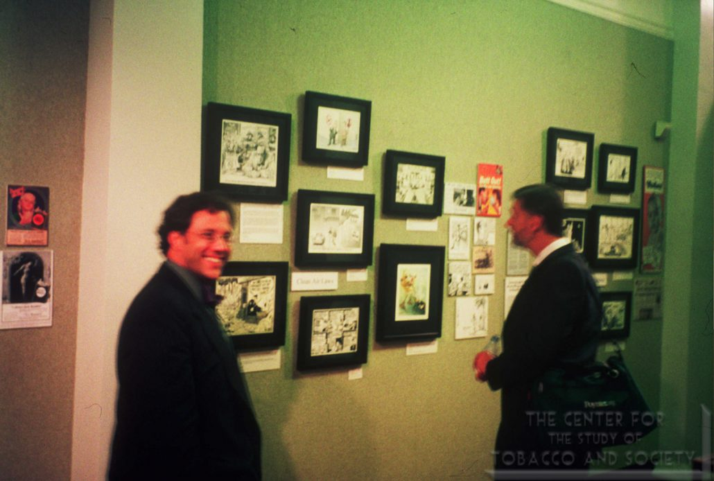 AL Museum of Nat. History Cartoonists Exhibit Photo 25 Stantis Crowe
