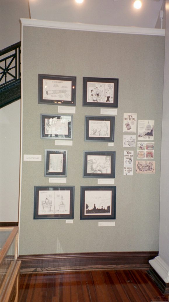 AL Museum of Nat. History Cartoonists Exhibit Photo 5