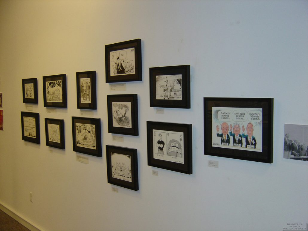 Ann Tower Gallery Cartoonists Exhibit 16