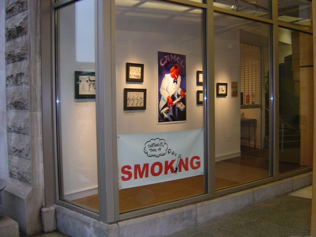 Ann Tower Gallery Cartoonists Exhibit 17
