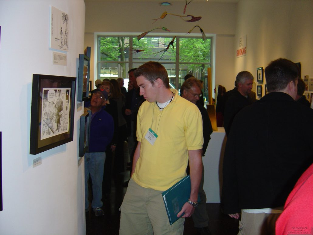 Ann Tower Gallery Cartoonists Exhibit 24