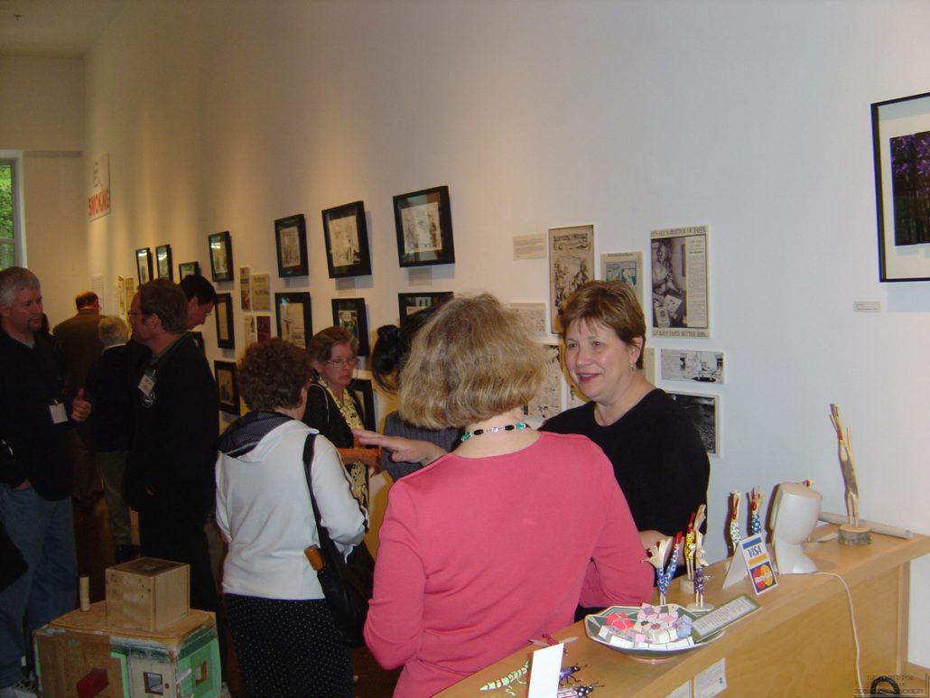 Ann Tower Gallery Cartoonists Exhibit 25