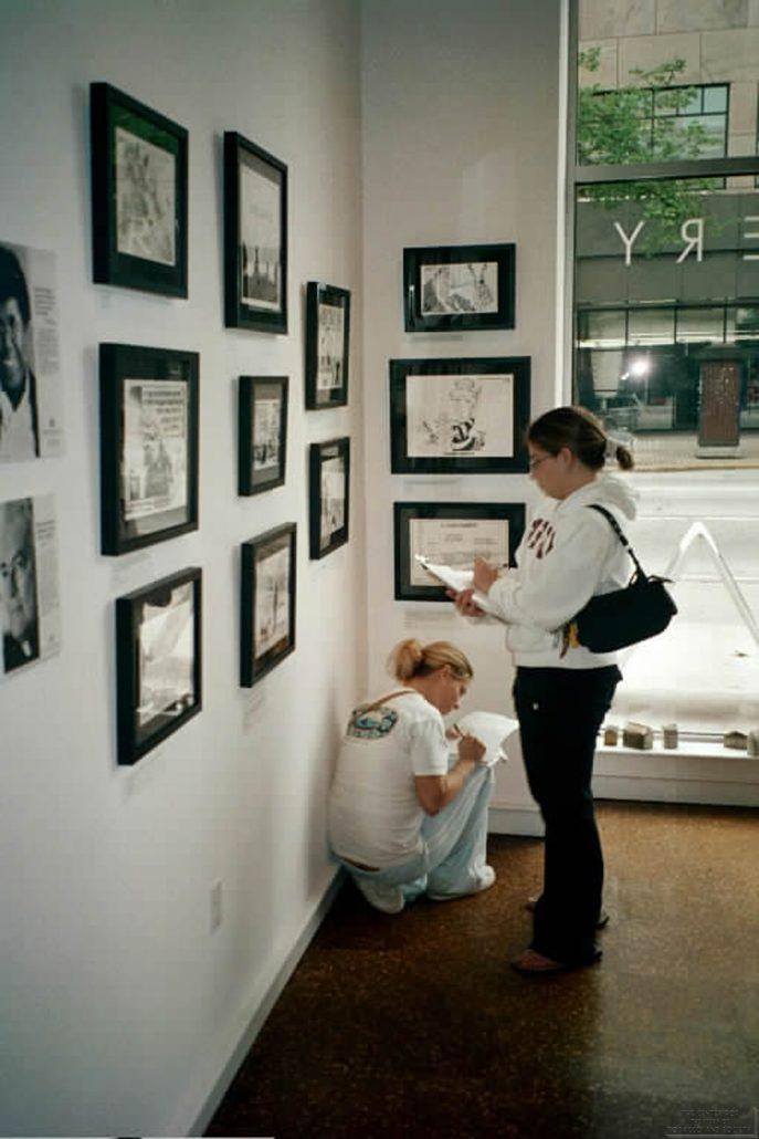 Ann Tower Gallery Cartoonists Exhibit 3
