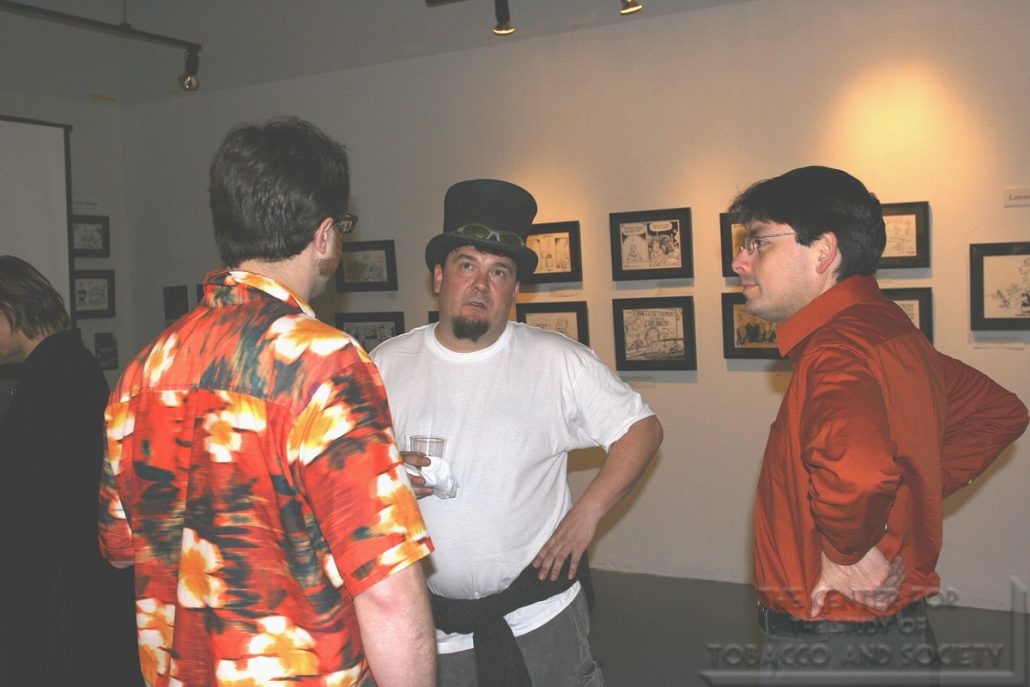 ArtPatch Artworks Gallery Cartoonists Exhibit Photo 39