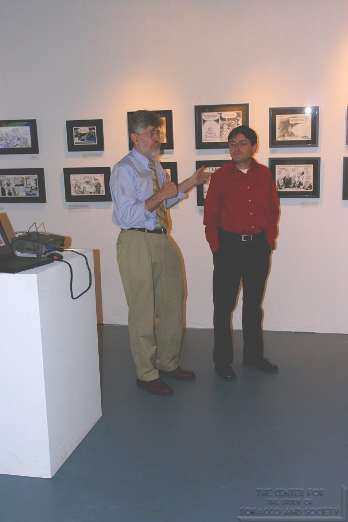 ArtPatch Artworks Gallery Cartoonists Exhibit Photo 5