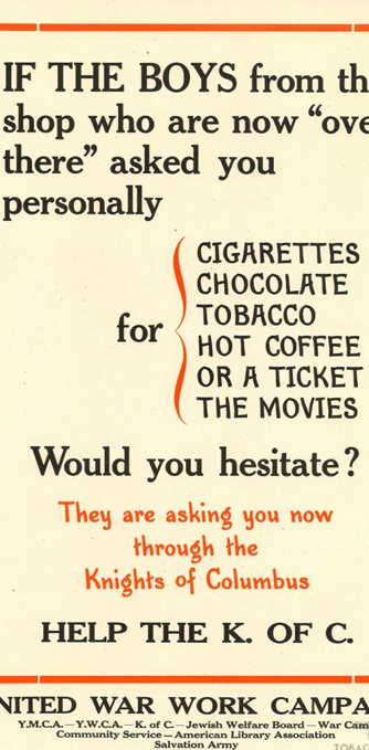 The Call for Cigarettes
