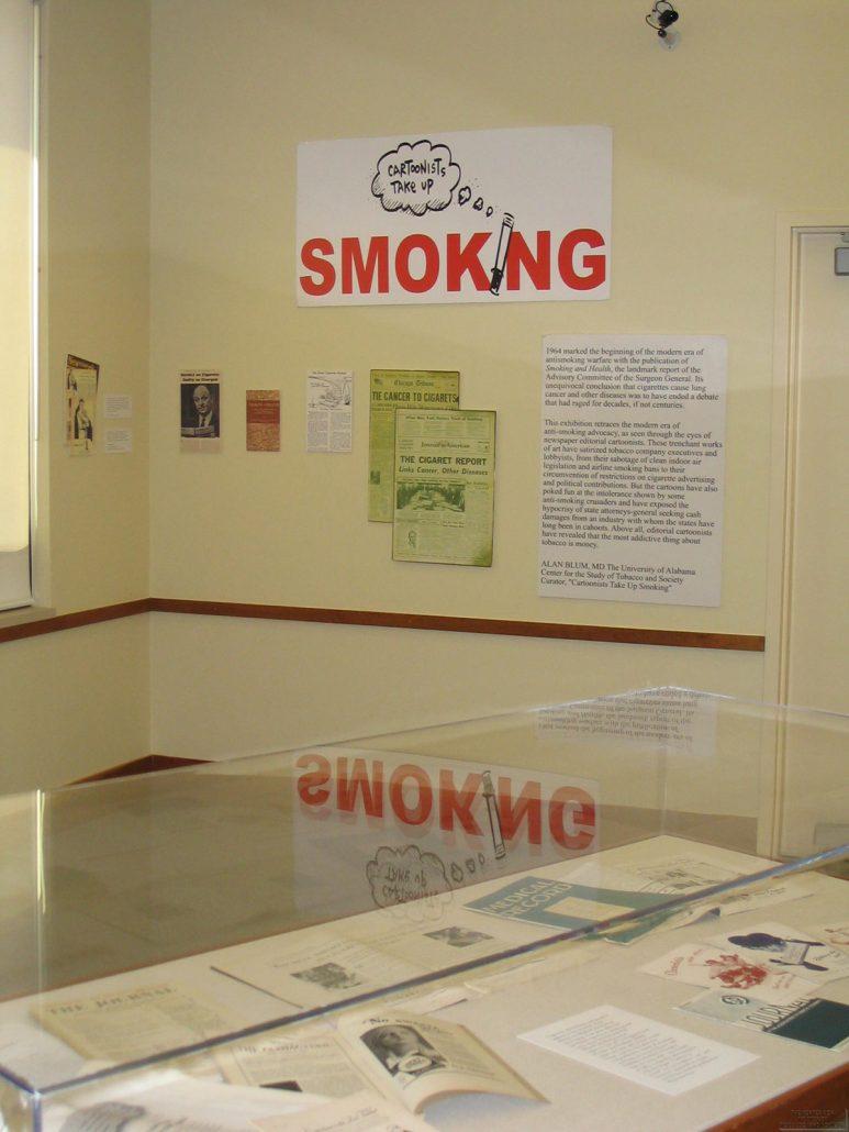 UAB Cartoonists Exhibit Photo 2