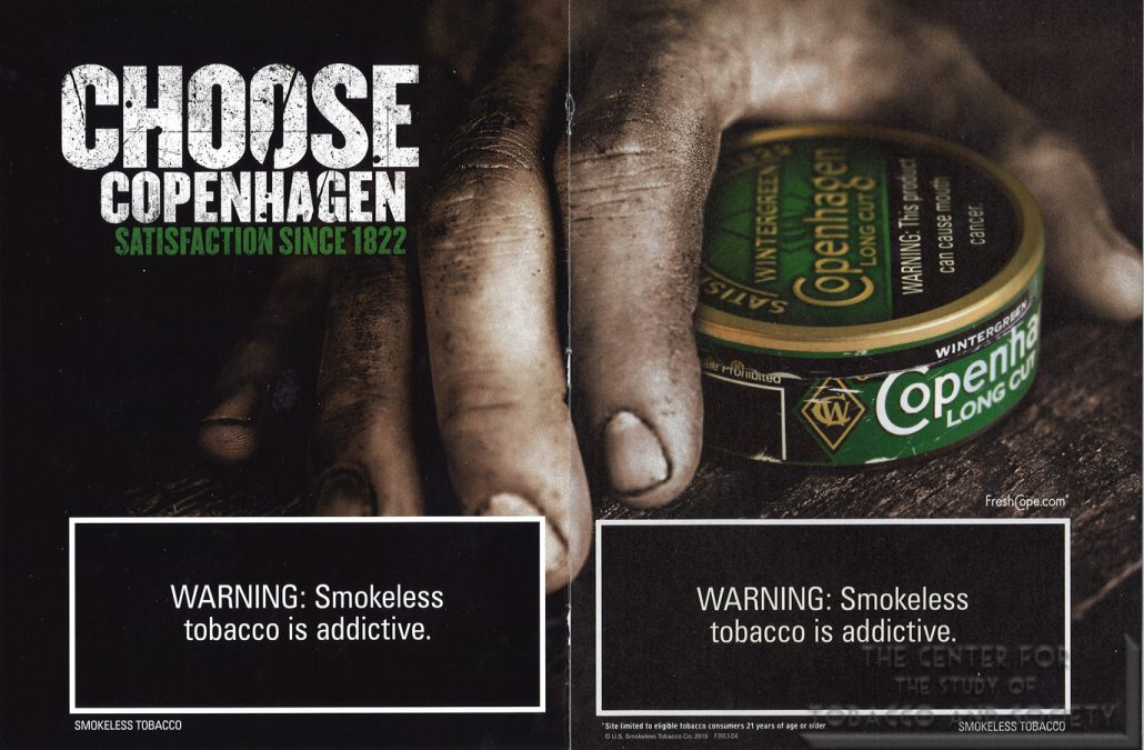 Choose Copenhagen Satisfaction Since 1822
